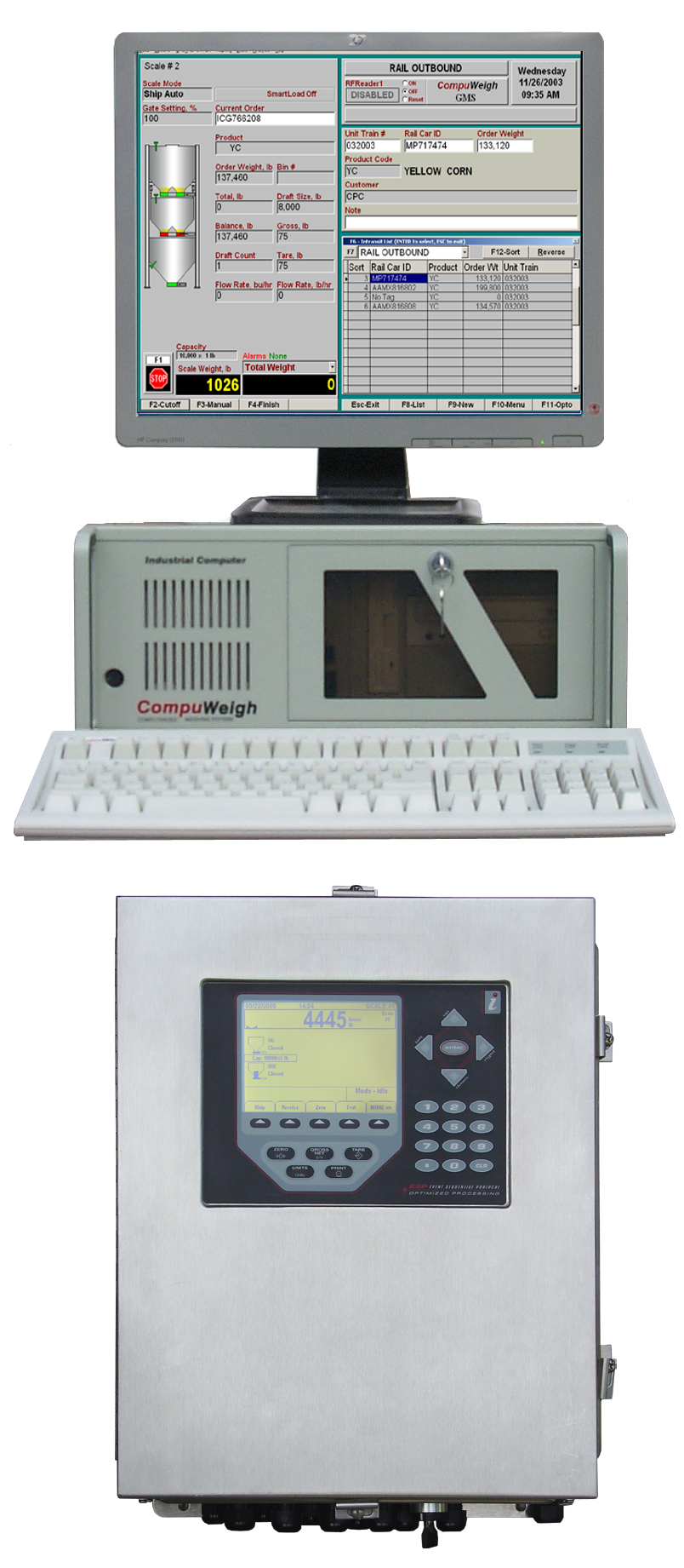 GMS-400 - Compuweigh Corporation