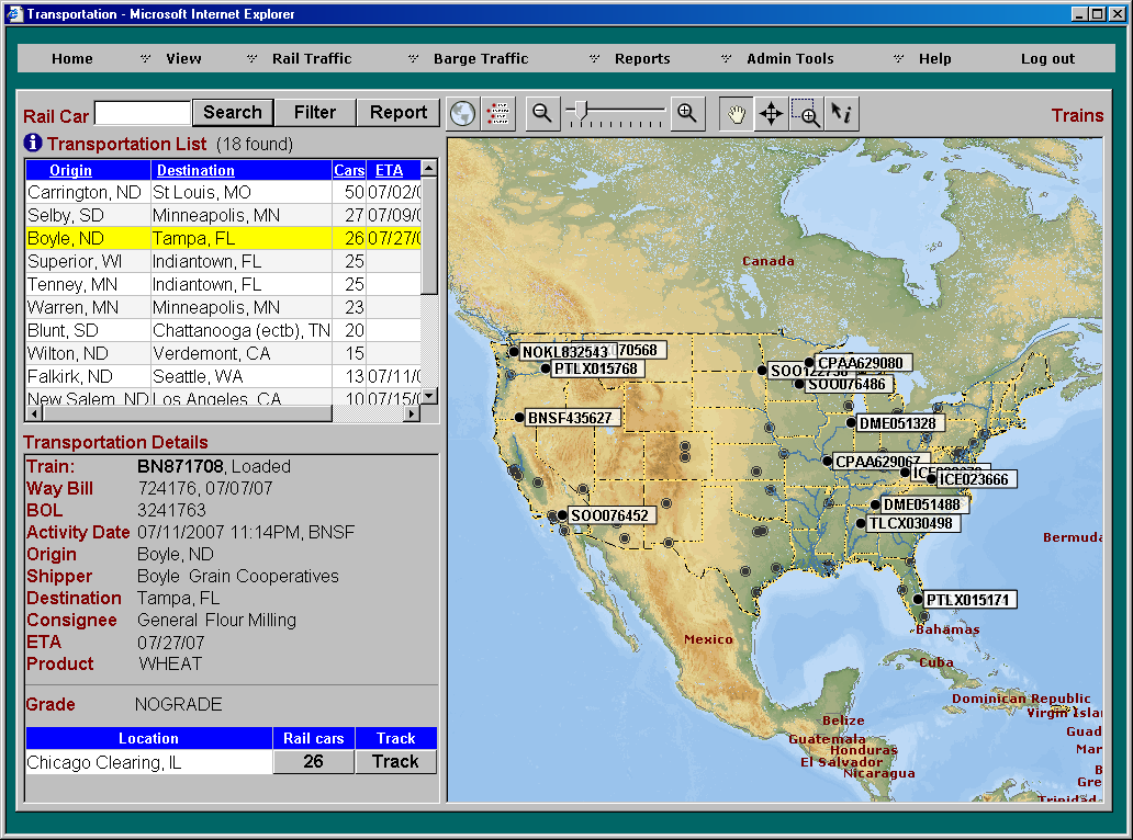 Railcar Tracking System - Compuweigh Corporation