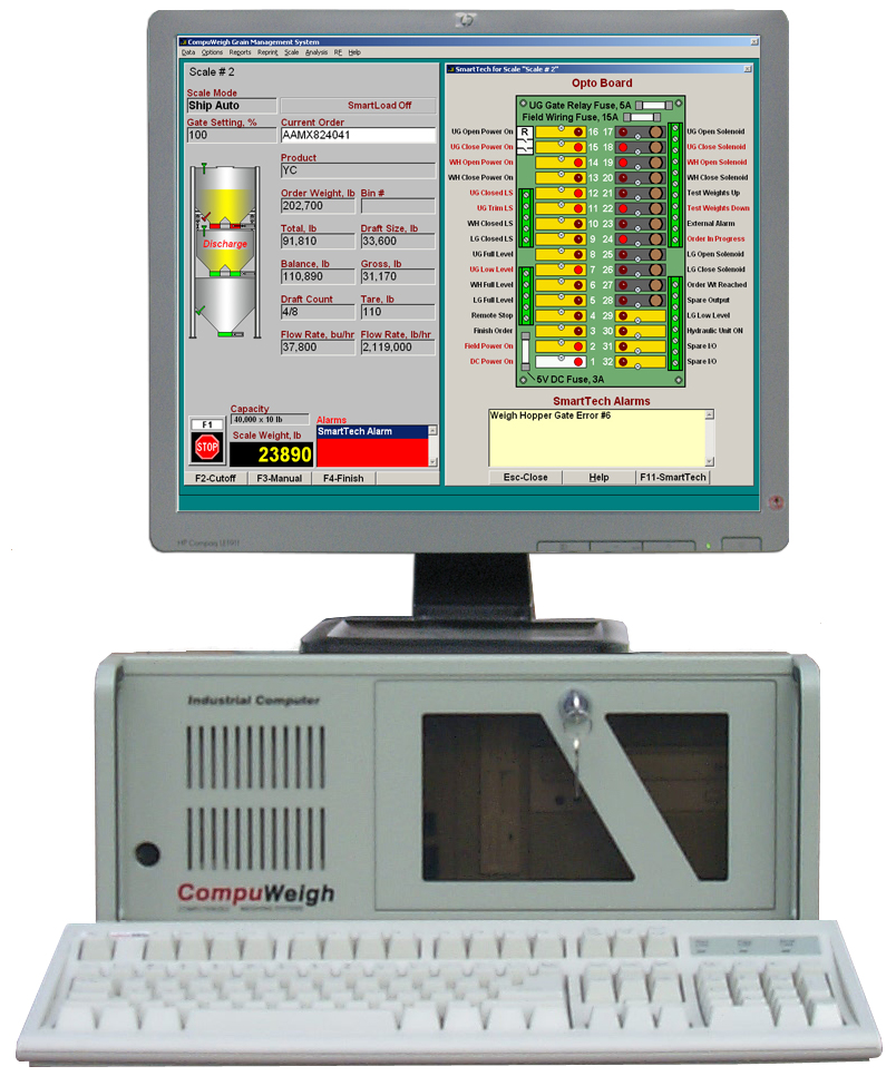 GMS-400 New Monitor with SmartTech Screen