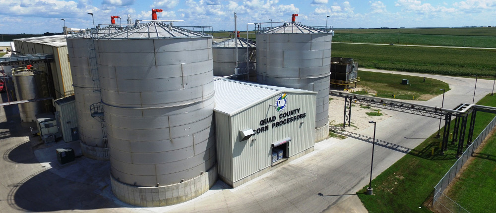 Quad County Corn Processors switched on CompuWeigh's SmartTrck system with SmartTouch on Aug. 1.